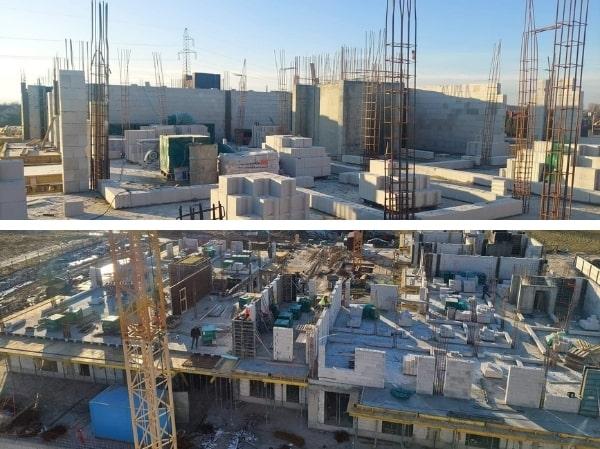 dziennik budowy 12 stycznia 2021