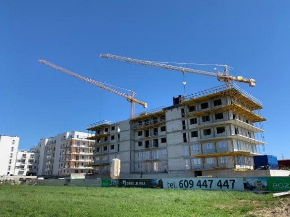 dziennik budowy osiedle miła budynek a 12 maj 2021