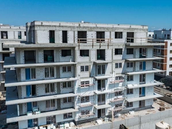 dziennik budowy osiedle mila budynek A 15 czerwca 2021
