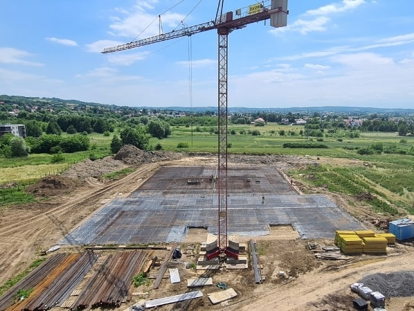dziennik budowy osiedle miła budynek C E 22 czerwca 2021