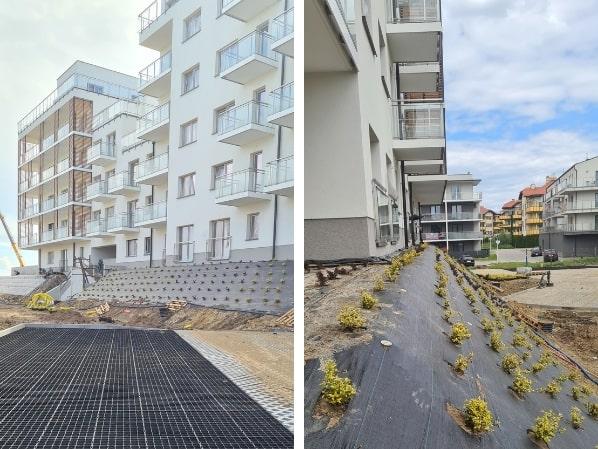 dziennik budowy osiedle miła budynek b 27 maj 2021